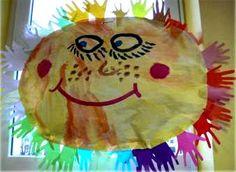 Tvoříme s dětmi ☺: Obří sluníčka