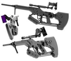 thunder rifle by malmida