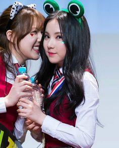 """""""[160206] (GFRIEND UPDATE) Yerin & Eunha @ Incheon Fansign @gfriendofficial  #gfriend #gfriend100k #yeojachingu #sourcemusic #buddy #buddies…"""""""