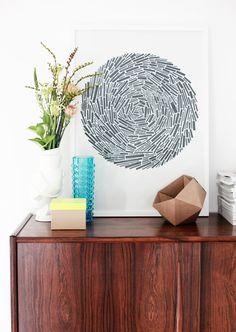 make with wood bits or card - fluro+kraft box - kraft geo box - - -scene by weekdaycarnival | http://weekdaycarnival.blogspot.com.au