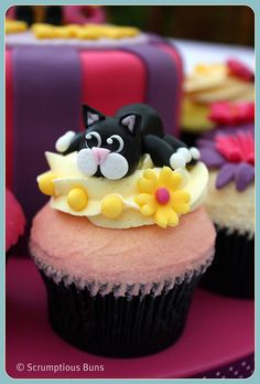 Puddy Cat by Scrumptious Buns (Samantha), via Flickr