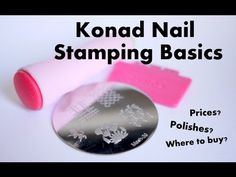 Konad Nail Stamping Basics // elleandish : What polishes to use, how much does nail stamping cost?  How do I use nail stamps?  Where can I buy them?