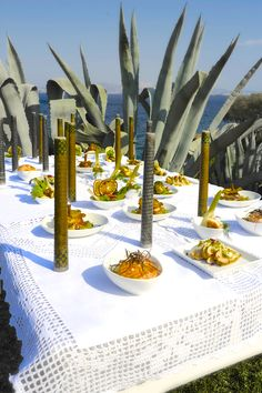 Extraordinary food and setting by Aria Fine Catering of course!!