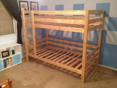 Classic Bunk Beds | Do It Yourself Home Projects from Ana White