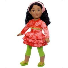 """Madame Alexander Dolls, 18"""" Oh So Groovy, Favorite Friends Collection"""
