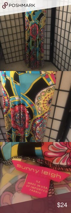 Sunny Leigh printed palazzo pants Waist 32 inches length 30 inches Sunny Leigh Pants Wide Leg