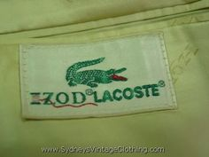 preppy golf skirts from the 1970s | Vintage Izod | Vintage Clothing | SydneysVintageClothing.com