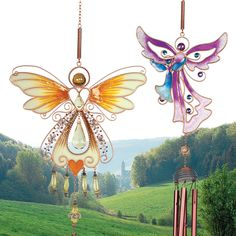 Our new Angelic Wind Chimes bring musical inspiration with each passing breeze. A lovely way to make a summer day even brighter!