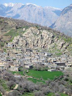 Iran,Newen village in Hawraman 2015 - Kurdistan - Wikipedia, the free encyclopedia Kurdistan, Iran, Mountain Village, The Province, East Africa, Nice View, Geography, City Photo, Tourism