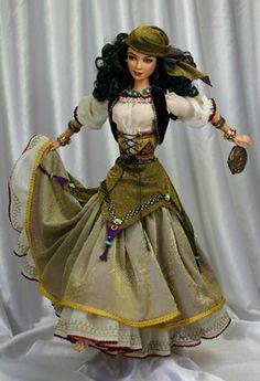 """""""Tsigana (gypsy) Louisa"""" ~ OOAK by Barbara Healey at ooakfolk.com"""
