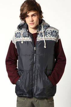 Nordic Aztec Padded Gilet With Hood >> http://www.boohoo.com/restofworld/gifts/gifts-for-him/icat/gifts-for-him/new-in/nordic-aztec-padded-gilet-with-hood/invt/mzz98938