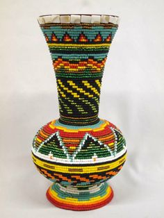 beaded vases - Google Search