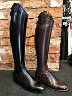 De Niro Riding Boots - De Niro Boots are crafted from the finest Italian leather and are suitable as show jumping boots or dressage boots. Horse Riding Boots, Leather Riding Boots, Equestrian Boots, Equestrian Outfits, Show Jumping, Tall Boots, Dressage, Italian Leather, Horses
