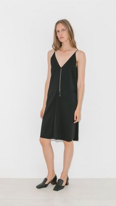 Sleeveless Dress W/ Chain by T By Alexander Wang