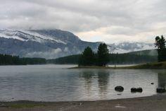 Maligne Lake, Jasper, Alberta.