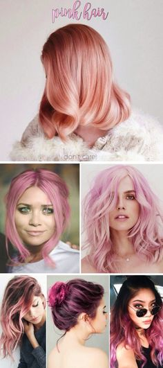pink hair  don't care