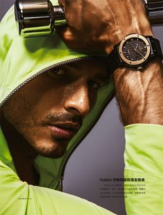 Andres Velencoso Segura Works Up a Sweat for LOfficiel Hommes China