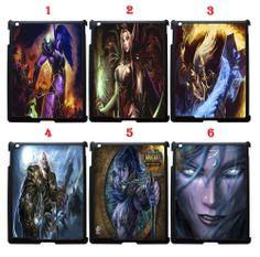 World Of Warcraft Apple iPad 2 3rd 4th Snap On 2D Case Black (1Pcs)