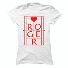 Roger Tennis Fan Red On White - #gifts #gift ideas. LIMITED TIME => https://www.sunfrog.com/Sports/Roger-Tennis-Fan-Re-On-White.html?68278