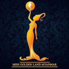 Logo Miss Golden Land Myanmar