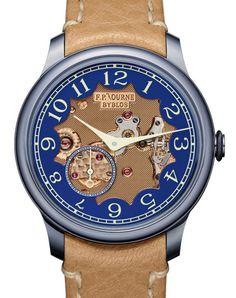 FP Journe Chronomètre Bleu Byblos watch
