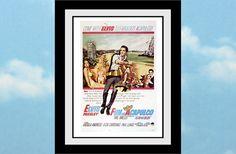 Fun in Acapulco Elvis Presley Movie Poster 8.5 x 11