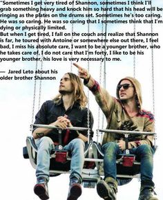 Shannon Leto #BestSupportingBrother