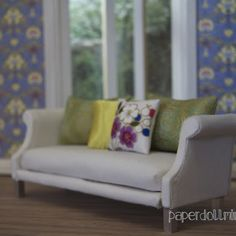 A modern miniatures blog with a focus on contemporary dollhouse design