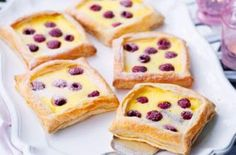 Raspberry and custard tarts recipe - goodtoknow