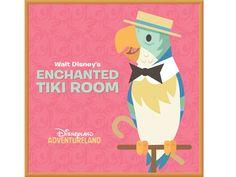 Disney Birds, Disney Enchanted, Tiki Room, Disneyland Resort, Walt Disney, Cricut, Design, Art, Art Background