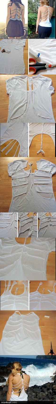 Artes com Capricho: Customize sua roupa