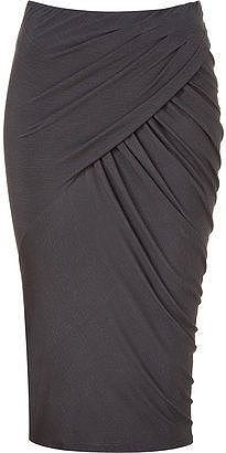Shop for Donna Karan Shadow twisted drape skirt at ShopStyle. Work Fashion, Skirt Fashion, Fashion Design, Fashion Site, Donna Karan, Beautiful Outfits, Cute Outfits, Draped Skirt, Skirt Outfits