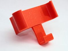 Bike phone holder (Nexus 5 & others; FreeCAD file included) by int2str - Thingiverse