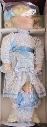 "LITTLE HOUSE on the PRAIRIE Porcelain ""NELLIE"" INGALLS DOLL 16"" w 5"" Doll Exclusive Edition w SHIPPER (1993 ASHTON DRAKE) by Ashton Drake, Artist Joan Ibarolle. $299.99. DOLL is NEVER REMOVED from Box. Box in Very Good Condition (some scuff marks), & Shipper Box has some shelf wear & blemishes.. Little House on the Prairie Nellie Doll by Artist Joan Ibarolle is a 1993 Ashton Drake production, original issue Exclusive Edition.. Nellie Doll is approx. 16"" tall & has blo..."