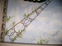 Trompe L'Oeil Ceiling Murals