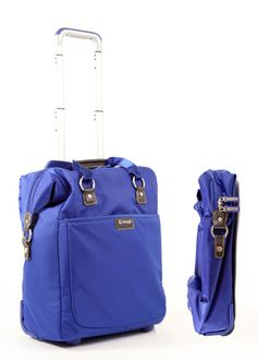 """Buy our Biaggi Contempo 18"""" Wheeled Tote Bag. Great weekend bag. Free shipping...easy returns $158.....carry on foldable luggage..."""