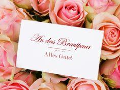 Sie sind zu einer Hochzeit eingeladen und haben keine Ahnung, was Sie in die Karte schreiben sollen? Hier finden Sie ein paar Tipps für angemessene Glückwünsche. http://www.fuersie.de/diy/hochzeit/artikel/so-formulieren-sie-hochzeits-glueckwuensche