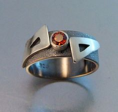 SCALENE RING by melodyarmstrong on Etsy, $285.00