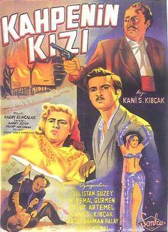 Türk Nostalji - Fotogaleri - Kahpenin Kızı (1952) filminin afişi