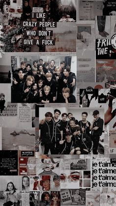 Soft Wallpaper, Aesthetic Iphone Wallpaper, Black Wallpaper, Bts Wallpaper, Aesthetic Wallpapers, Exo Bts, Baekhyun Chanyeol, Kpop Exo, Luhan And Kris