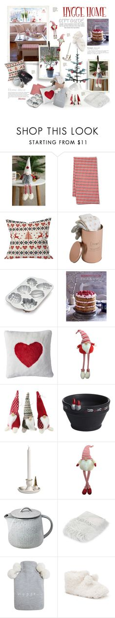 """Hygge: Gift Guide"" by thewondersoffashion ❤ liked on Polyvore featuring interior, interiors, interior design, home, home decor, interior decorating, Mud Pie, Maison du Linge, Mint Velvet and Nordic Ware"