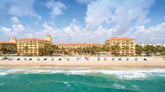 The beach at Eau Palm Beach Resort & Spa