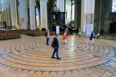 The famous winding walk at Chartres is surrounded in mystery and myth.
