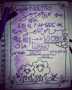 Día #10  Salmo 91:4 - ❤ -  Mi Socorro Viene de Ti Dios, creador del Cielo y la tierra, mi pronto auxilio en la tormenta. 🎶🎼🎶🎵🎵 #LetteringBíblicoSeptiembre #ConfiandoEnSusPromesas #yopintomibiblia #letteringconpropósito #handlettering #typography #handletter #lettering #LetteringBeginner #handmade #watercolour #caligritype #journaling #BibleJournaling #brushlettering #biblejournalingenespañol