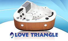 Love Triangle 2 Person  22 Jet Corner Spa Portable Hot Tub   Tub    Pinterest            Love Triangle 2 Person  22 Jet Corner Spa Portable Hot Tub   Tub  . Corner Hot Tub Spa. Home Design Ideas