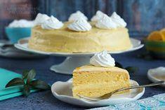 ...konyhán innen - kerten túl...: Citromtorta Vanilla Cake, Food, Cakes, Icon Set, Cake Makers, Essen, Kuchen, Cake, Meals