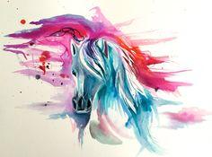 7-Color Horse by Lucky978.deviantart.com on @DeviantArt