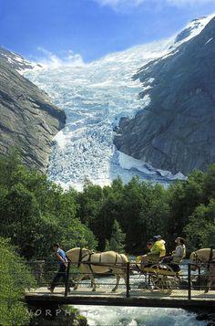 Briksdalsbre Sogn og Fjorande, Norway