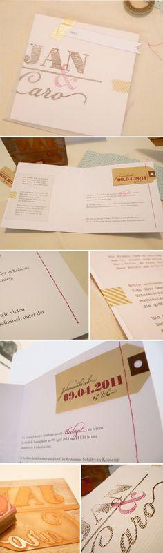 My Wedding – Part I | sodapop design