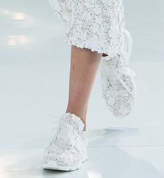 Chanel couture sneakers
